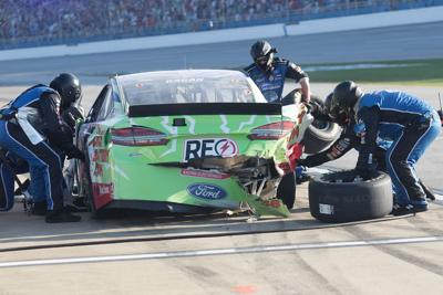 Scenes from the Alabama 500 at Talladega Superspeedway