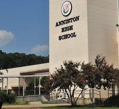 Anniston High School exterior