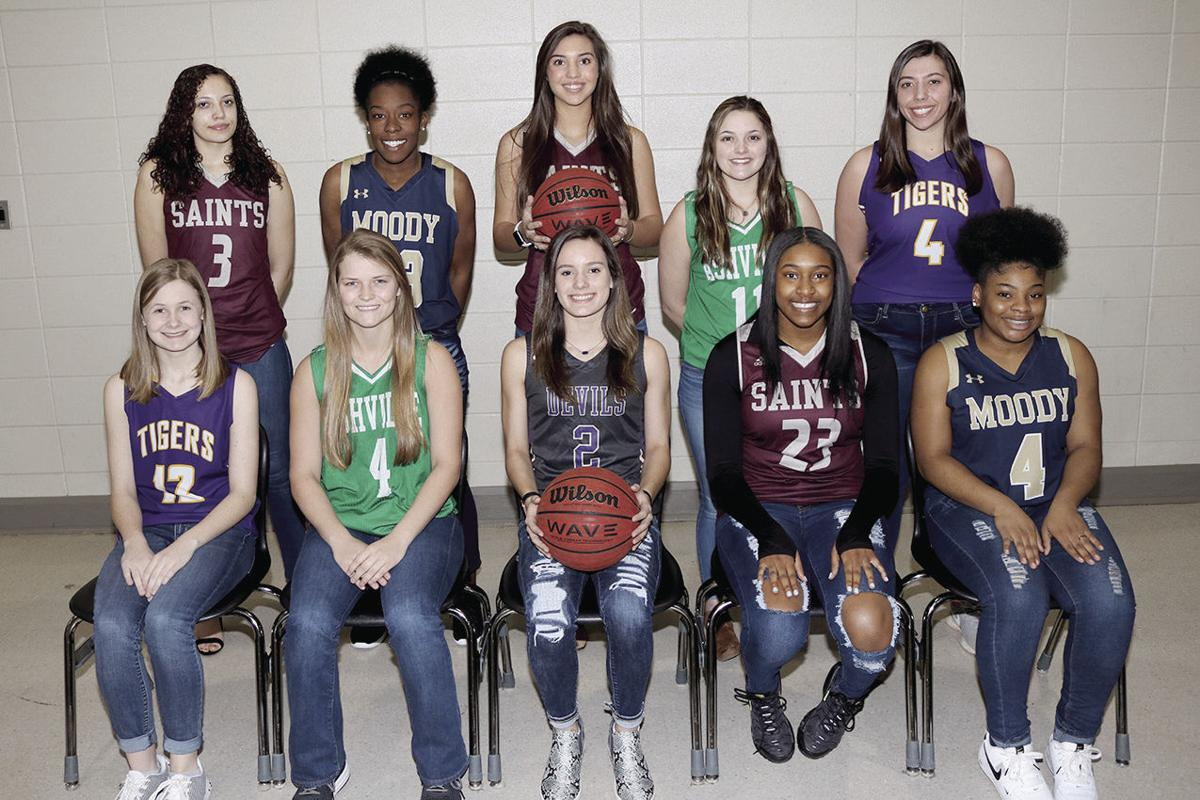 All-County Girls