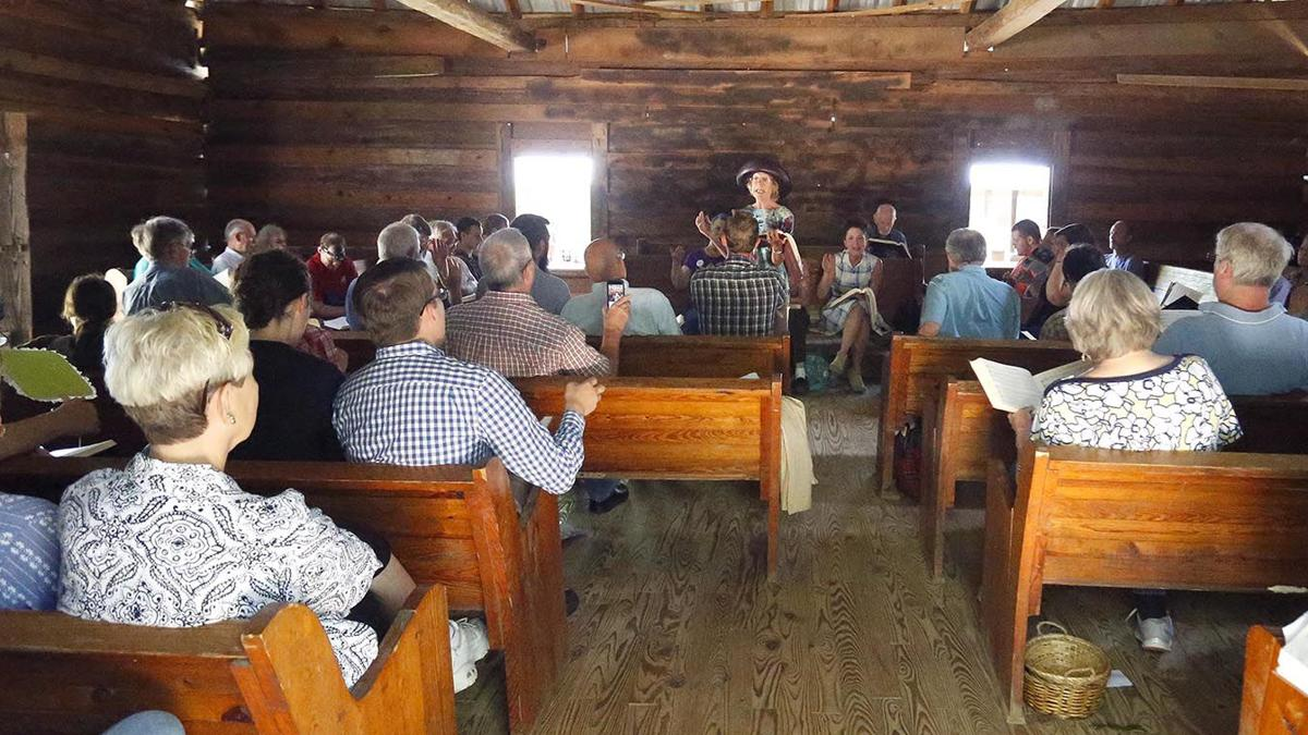 Sacred Harp singers gather at Shoal Creek to keep tradition alive