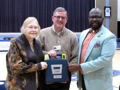 Childersburg gets an AED