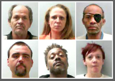 Six facing felony drug charges in Talladega County | The Daily Home
