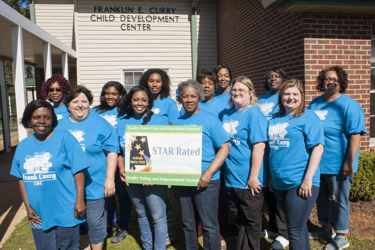 Frank Curry Child Development Center earns third Alabama Quality Star