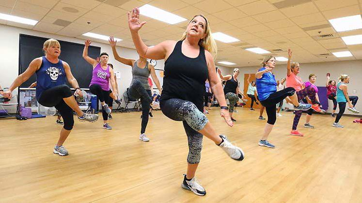 Fitness Class at Anniston Aquatic & Fitness Center