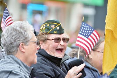 Anniston Veterans Day Parade BW 16.JPG