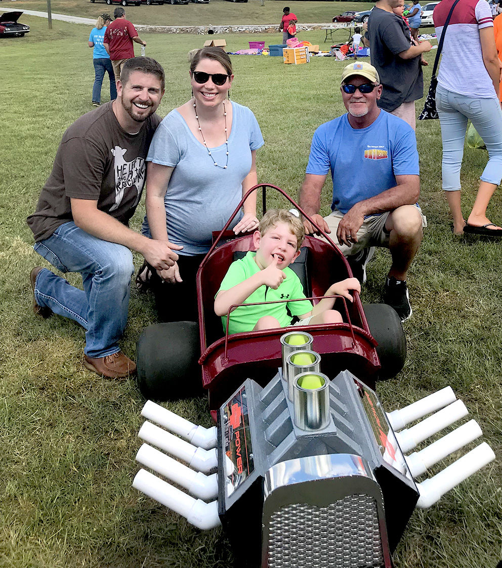 Church's car show includes special hot rod for child with cerebral palsy