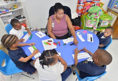 Randolph Park Elementary School pre-k program