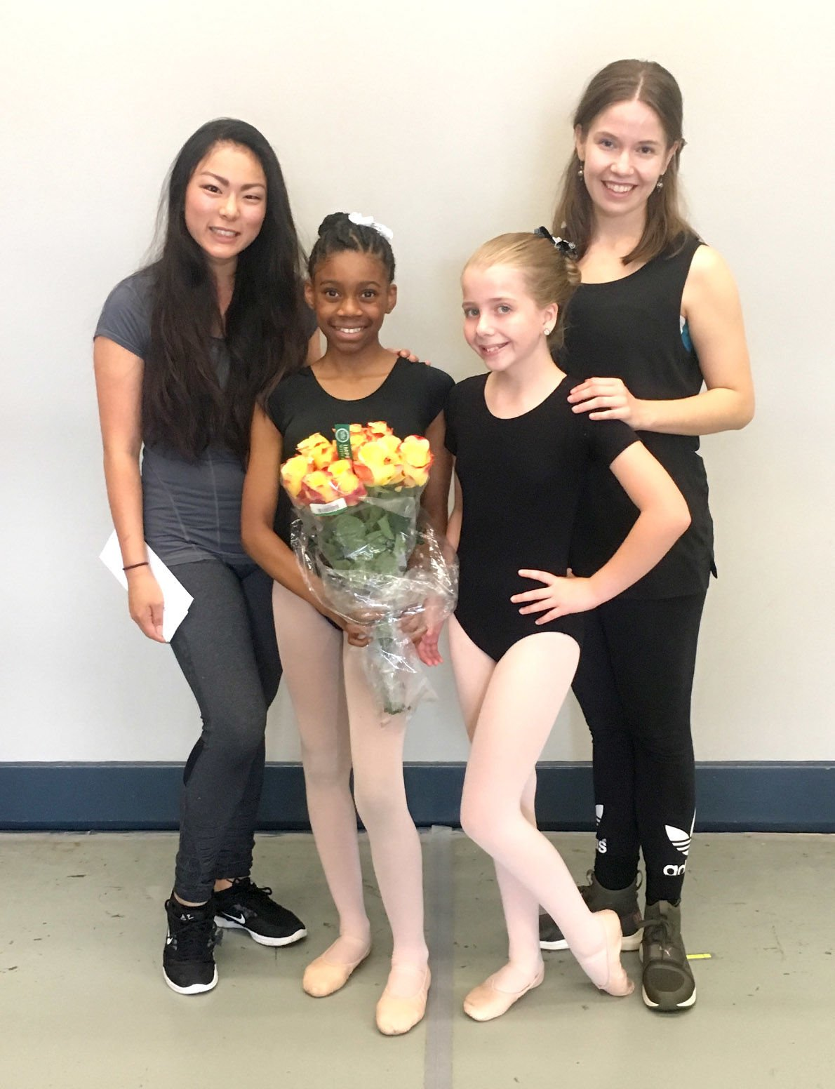 Akina Curry, Carly Layfield participate in Alabama Ballet summer camp
