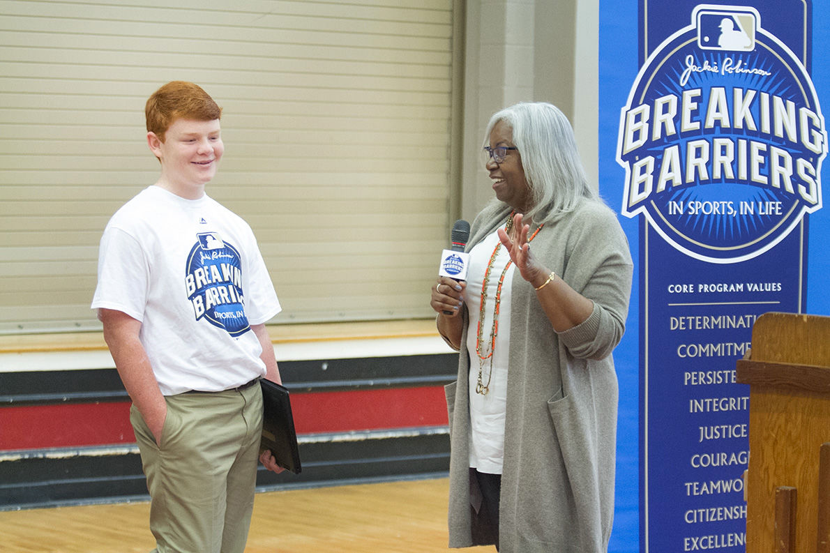 breaking barriers essay contest winning essay Of the more than 150 essays received, four grand prize winners were  the  legendary jackie robinson broke the color barrier in the mlb.