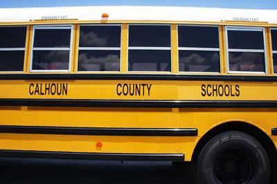 Calhoun County Schools bus