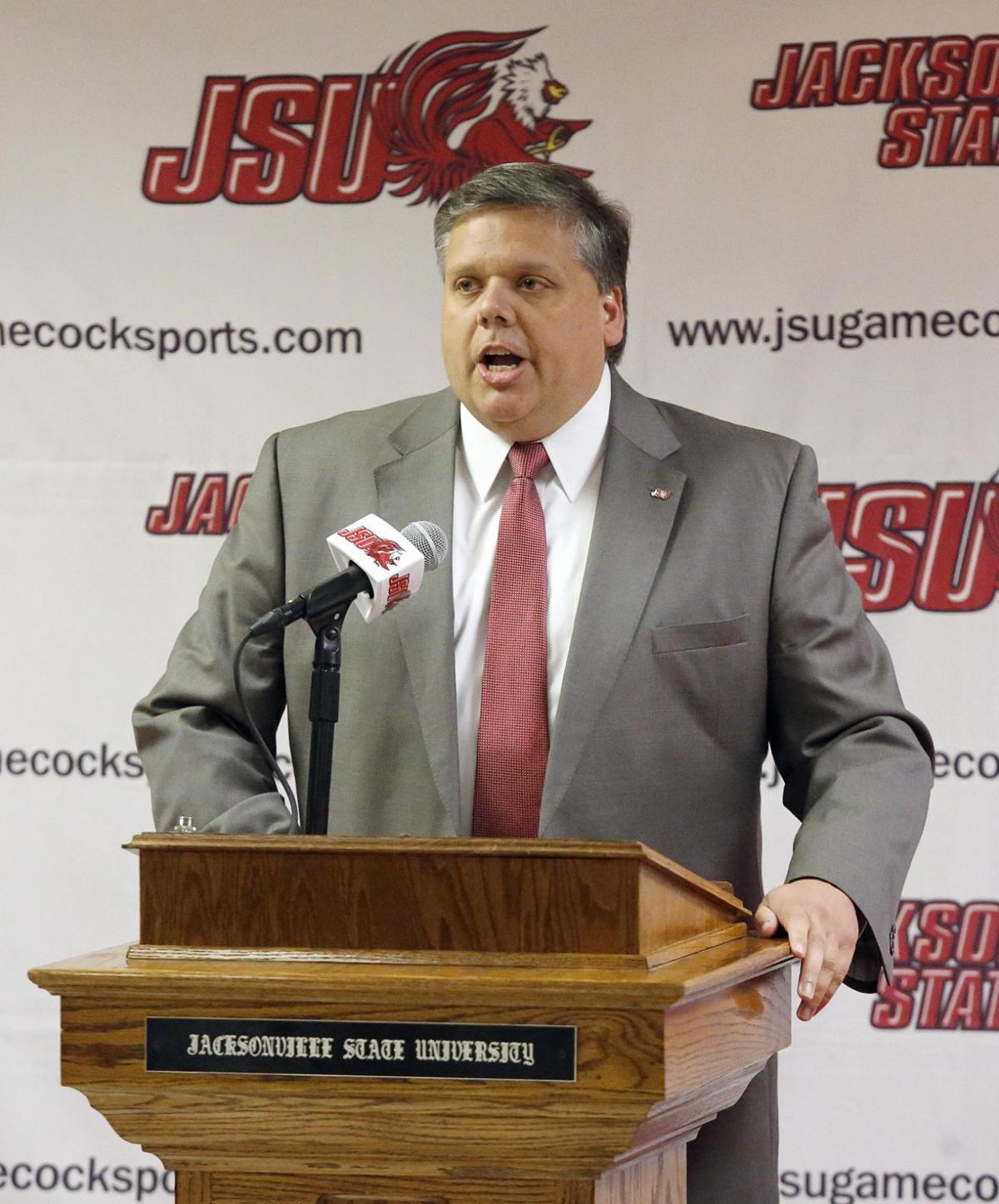 JSU basketball coach Ray Harper