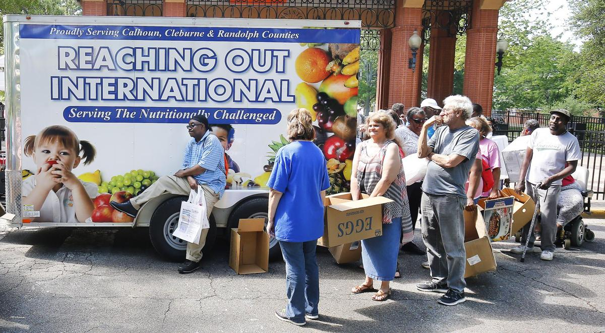 Reaching Out International Food Giveaway