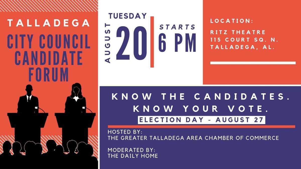 Talladega Council Candidate Forum 2019