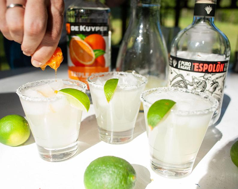 Get back to basics with a classic margarita