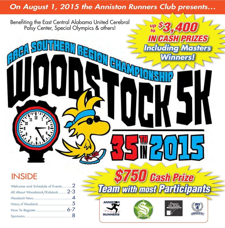 Woodstock 5K 2015