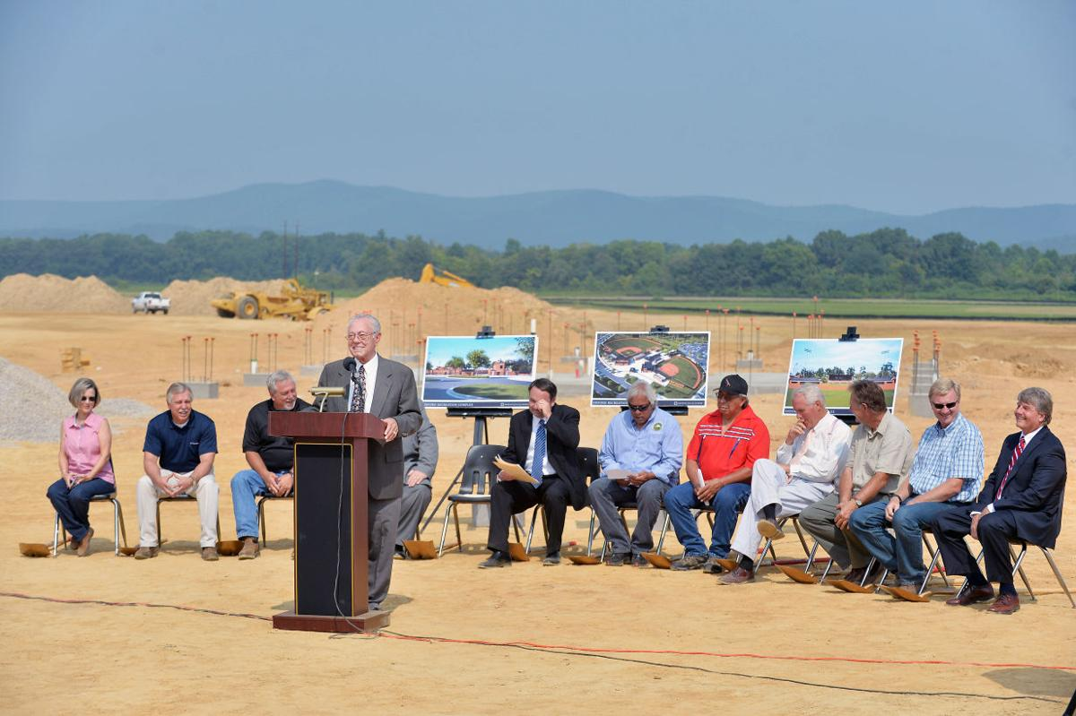 Oxford Sports Complex groundbreaking