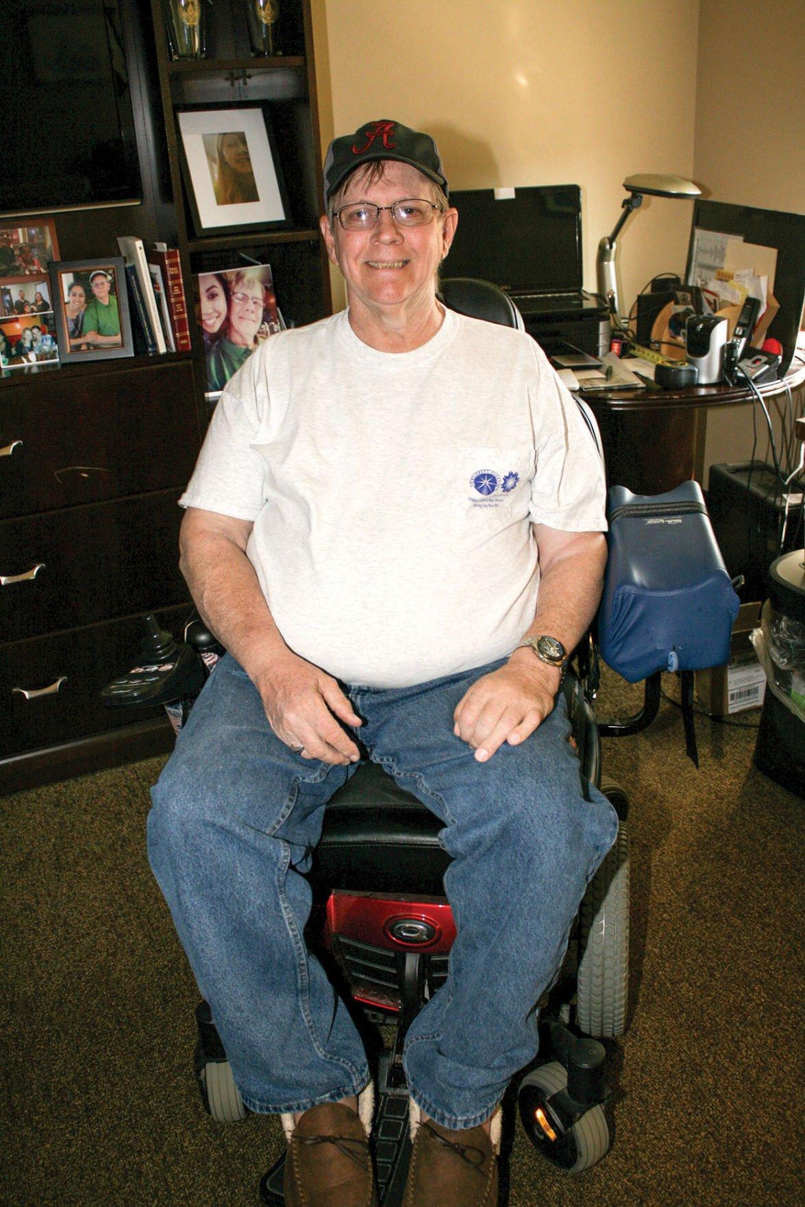 Col. Robert L. Howard State Veterans Home resident Richard Thompson