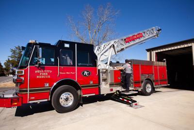 New Pell City Fire Truck