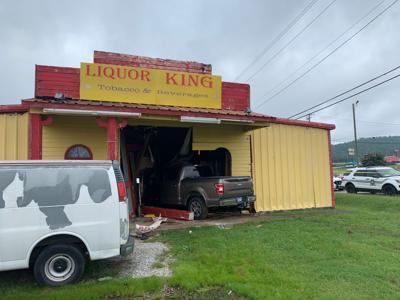 Liquor King crash