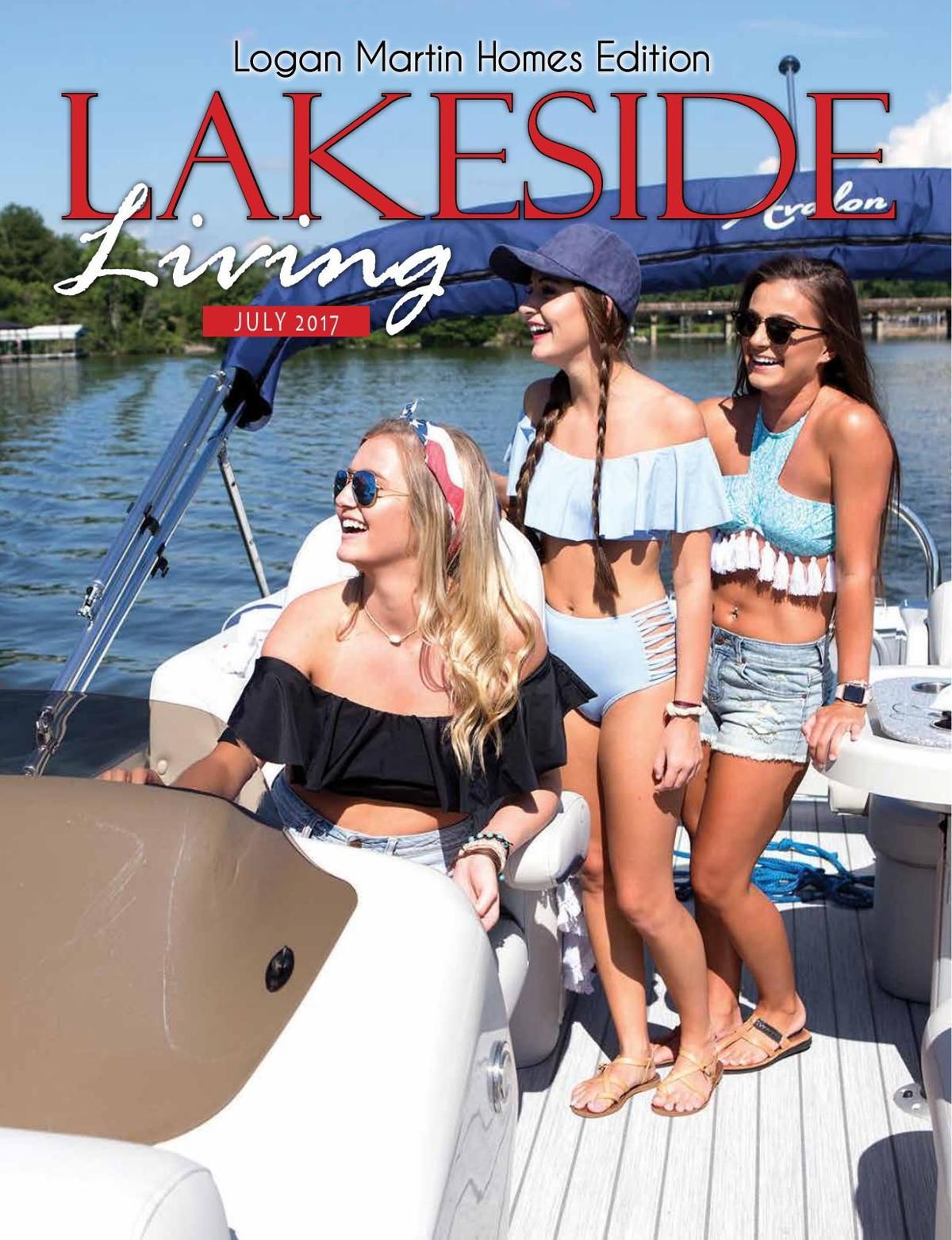 July Lakeside Living