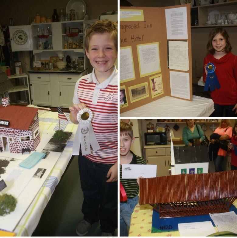 County History Fair winners