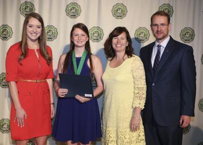 Congrats ... Rio Murray receives second place in the 2018 Alabama Farm-City Multimedia contest