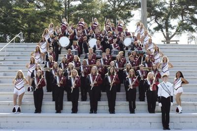The 2018-19 St. Clair County High School band