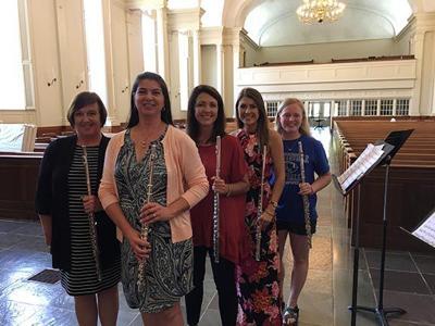 Anniston First United Methodist Church flute ensemble