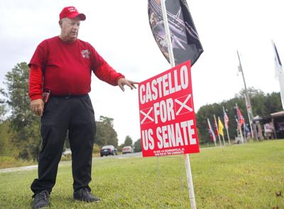 Man behind I-20 Confederate flags says he'll run for Senate