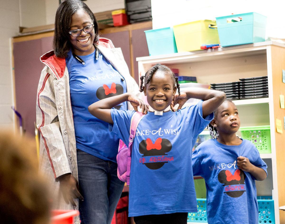 Stemley Road Elementary 1st-grader receives trip to Disney World courtesy Make-A-Wish Alabama
