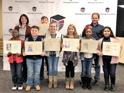 Pinecrest Elementary art students recognized