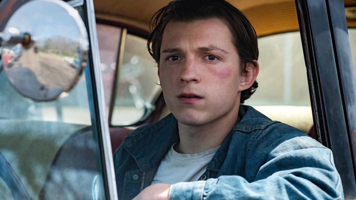 Tom Holland in 'Devil All the Time'
