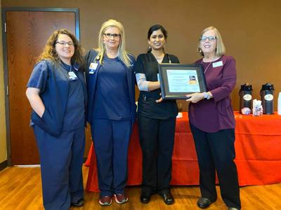 Coosa Valley Medical Center in Sylacauga honored by American Heart Association
