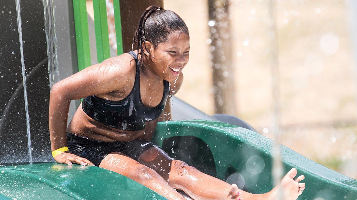 Summertime fun at Pell City splash pad (photo gallery)