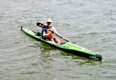 Kayaker Joe Zellner