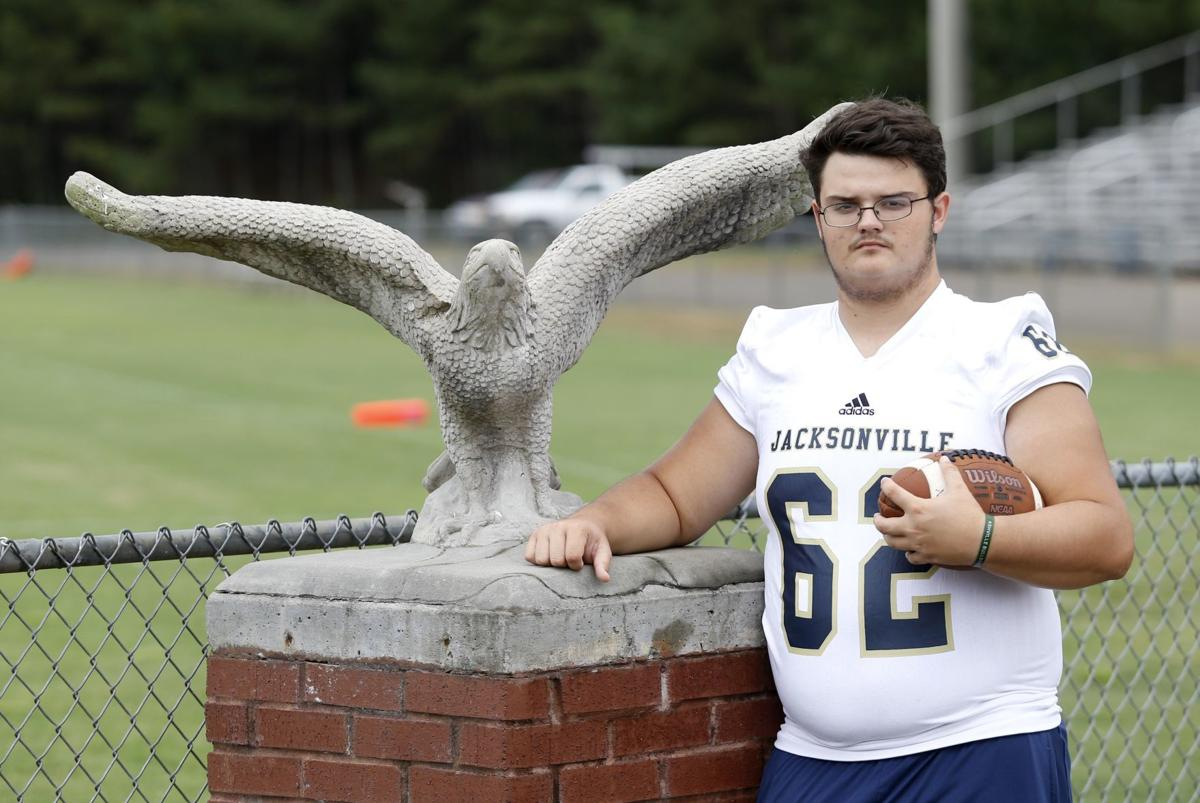 Storm-centered: Narrowly spared in tornado, Jacksonville's Parker trying to make most of life
