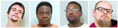 4 arrested on felony drug charges