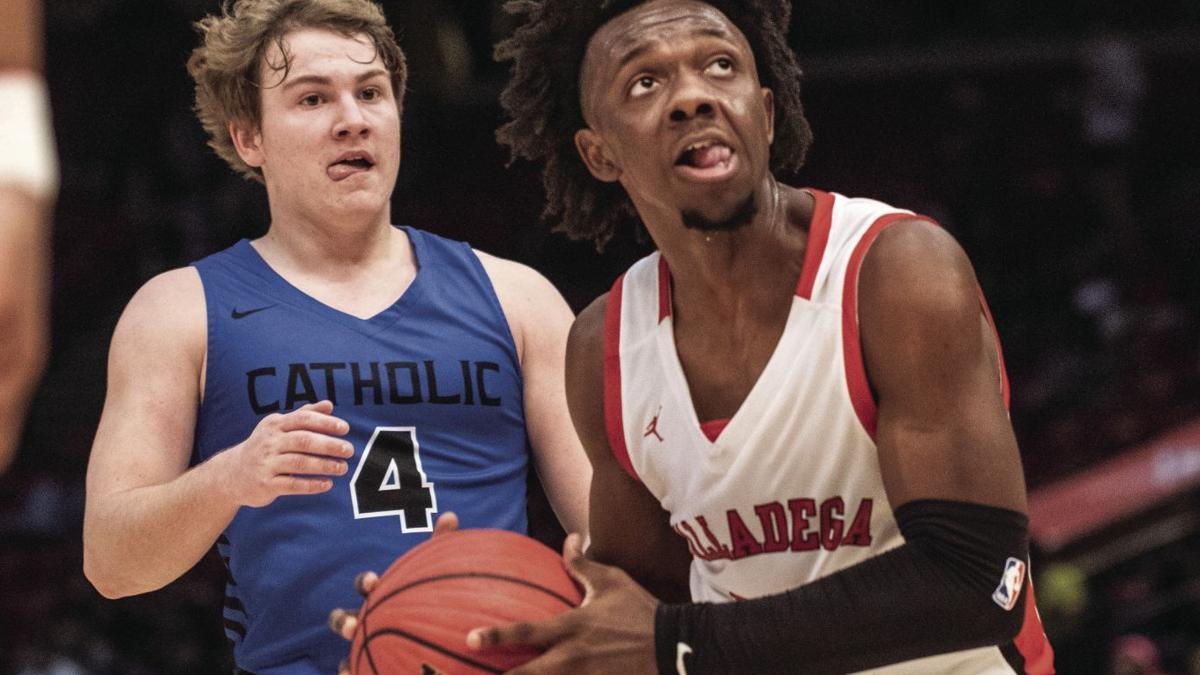 Scenes from Talladega's Class 4A state semifinal game against Montgomery Catholic (photo gallery)