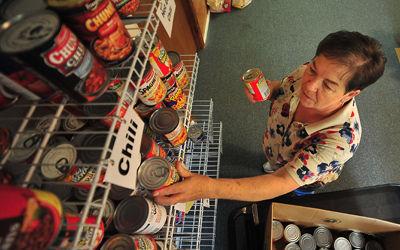 Baptist Service Association food pantry