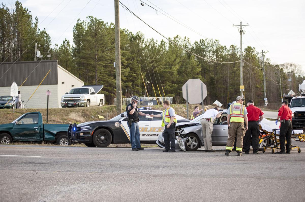 Tucker webb the daily home a two vehicle accident at the intersection