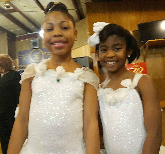 Youngsters participate in College City Temple #823 Black History celebration