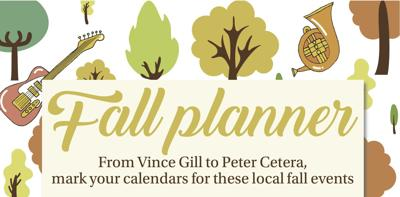 Fall planner illustration