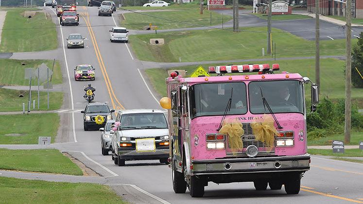 Pink Heals Eastern Al Childhood Cancer Awareness Parade