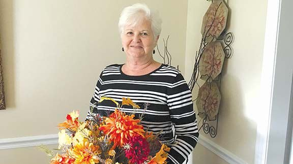 Quilting remains in Betty Davenport's life