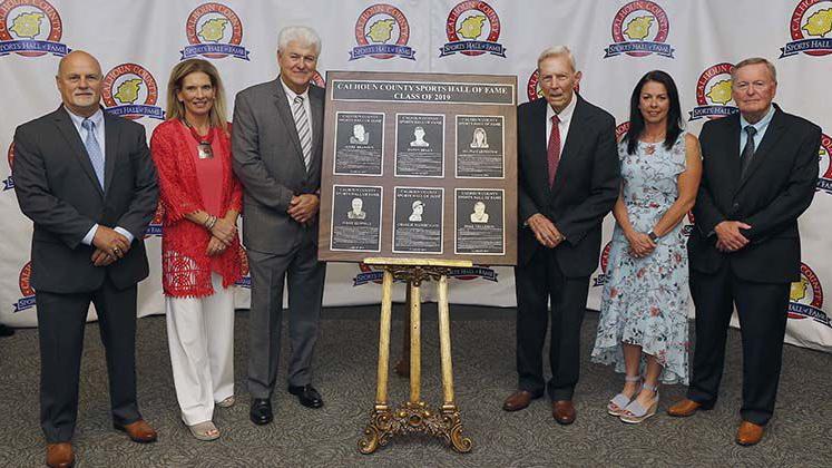 Photos; 2019 Calhoun County Sports Hall Of Fame Induction