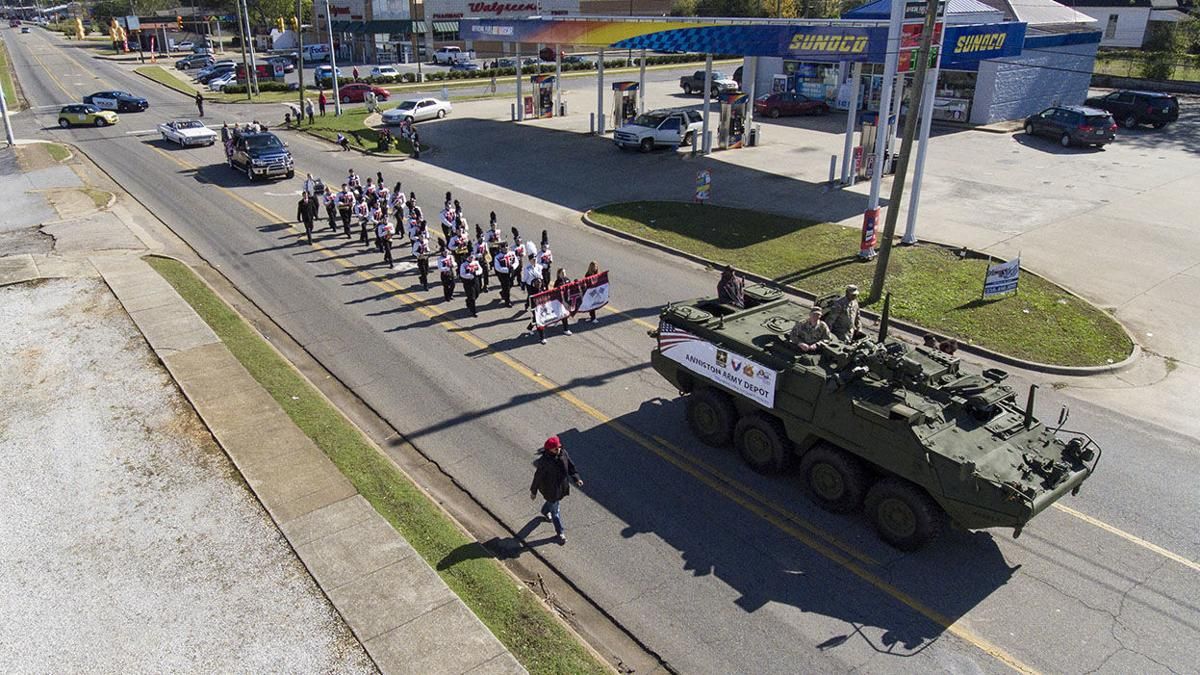 Talladega Hall of Heroes marks Veterans Day with parade, reception (photo gallery)
