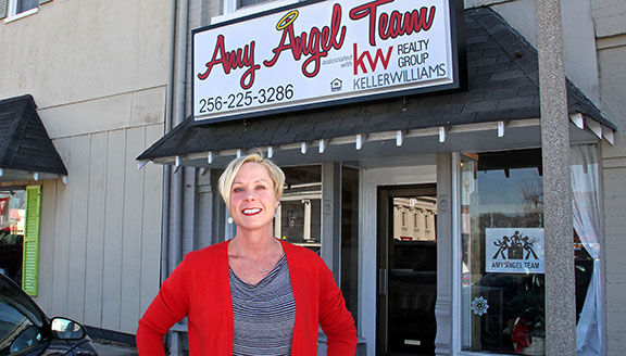 Amy Angel opens real estate office on the Square