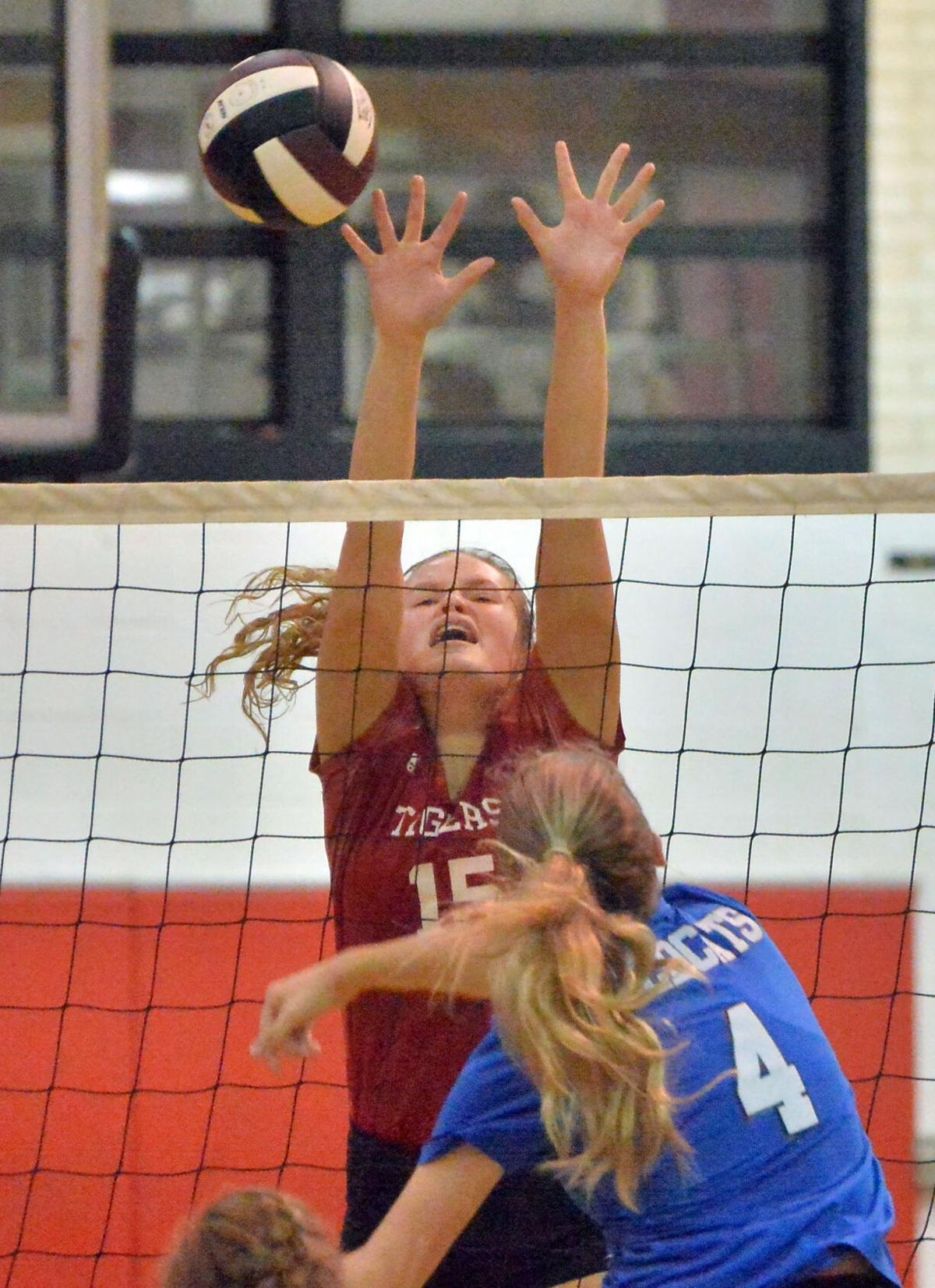 Cleburne County vs White Plains volleyball BW 23.JPG