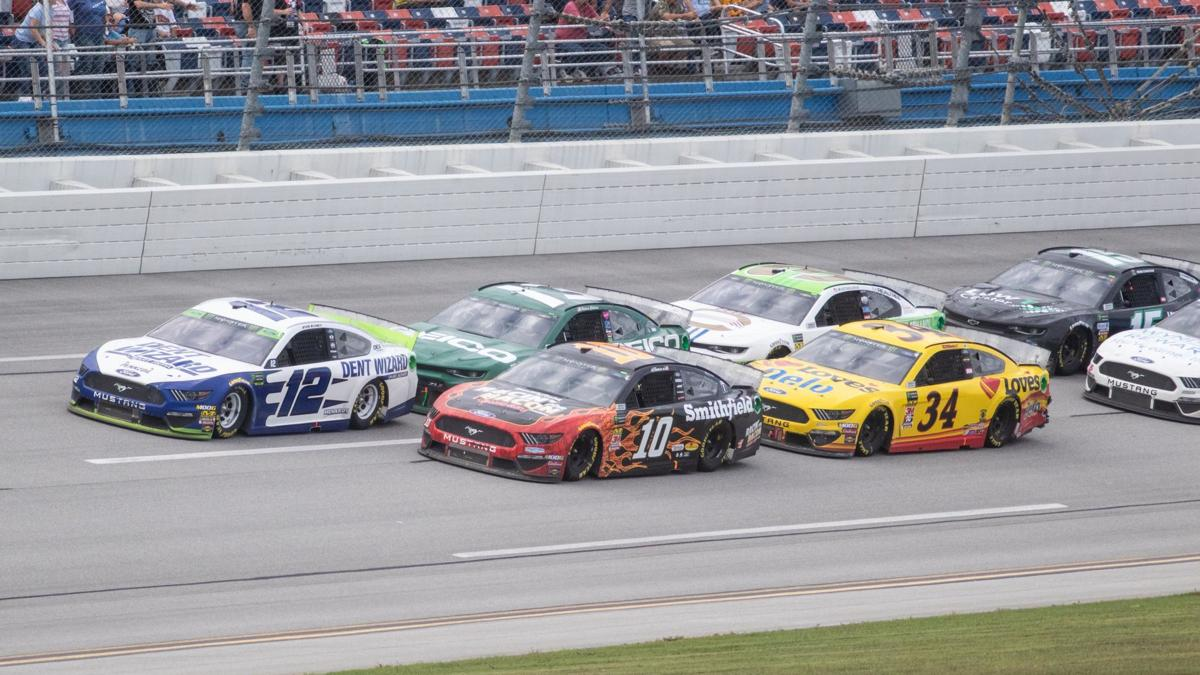 Scenes from Monday racing action at Talladega Superspeedway (photo gallery)