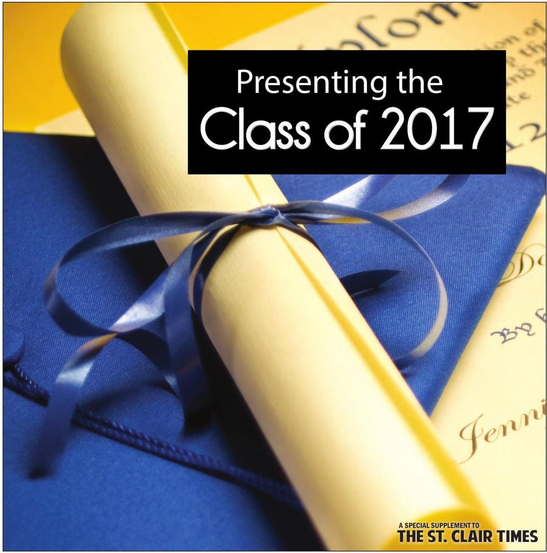 St. Clair Graduation Section 2017